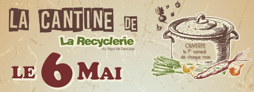 Samedi 6 mai à la Recyclerie : La Cantine du mois